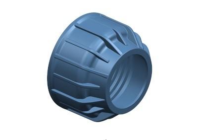 Περικόχλιο PN10 - Μπλε