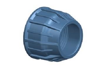 Περικόχλιο PN16 - Μπλε