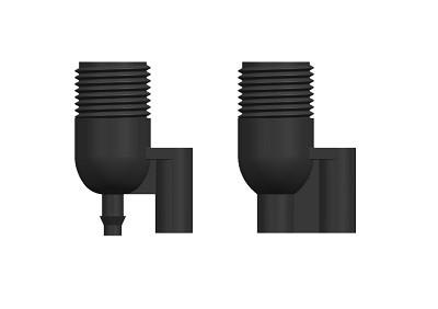 Mini Connector M & F Black